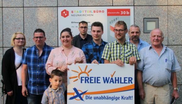 Vorstand der Freien Wähler Neunkirchen